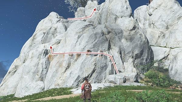 ロッククライミングでの登り方の攻略ルート