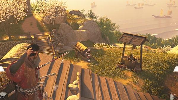 蒙古兵が警備するエリアの攻略ポイントその3