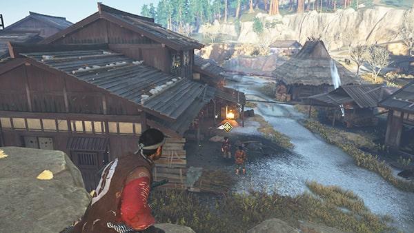 ストーリーが進行する小松の鍛冶場の様子