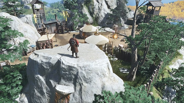 鉤縄で行ける高岩の場所