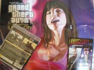 GTA:エピソード・フロム・リバティーシティのポスター