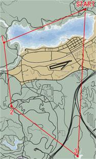 航空密輸2のマップ