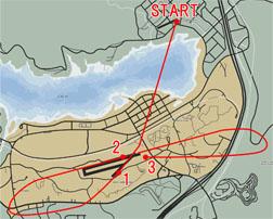 航空密輸5のマップ