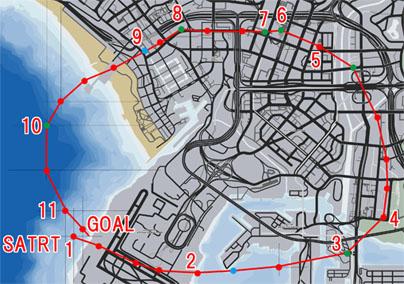 エアポート・フライバイ(Airport Flyby)のマップ