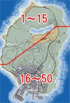 アンダーザブリッジのマップ
