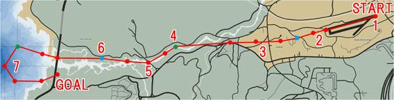 ブリッジ・パーティー(Bridge Binge)のマップ