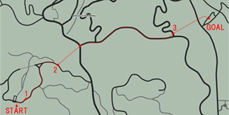 Caida Libreのマップ