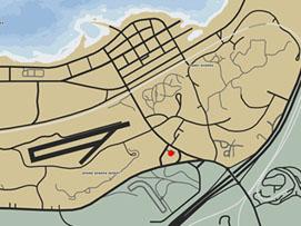 ダーツの場所マップ