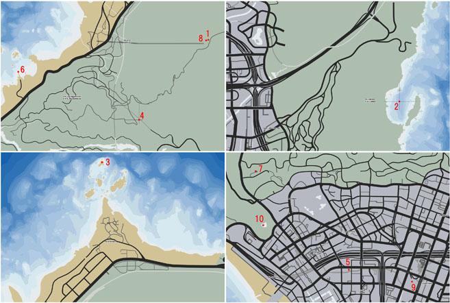 イプシロンの道のマップ