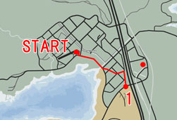 地上密輸4のマップ