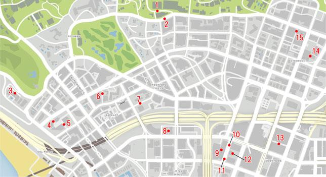 ナイフエッジができる場所のマップ