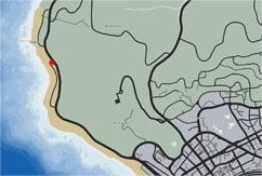 GTA5のマップ