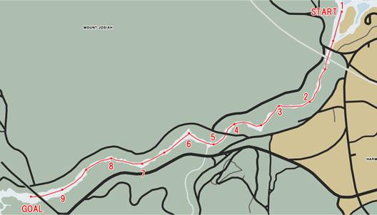 シーレース:ラトン・キャニオン(Raton Canyon)マップ