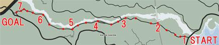 オフロードレース4:山岳道(Valley Trail)マップ