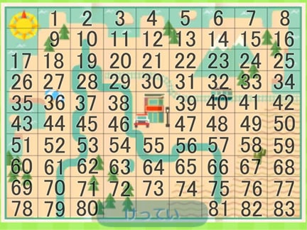 土地選びのマップと番号