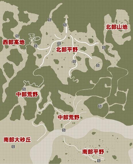 あべしコレクションのマップ