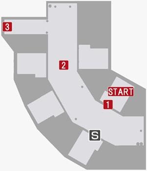 地下牢のマップ