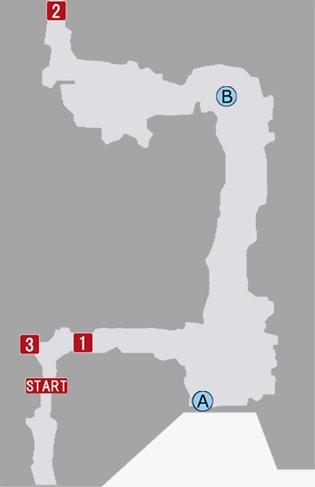 鬼憑き村のマップ