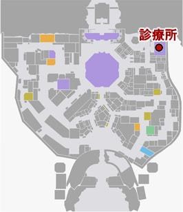 ケンシロウ・クリニックの場所マップ