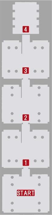 序章『絶望の男』の攻略順マップ