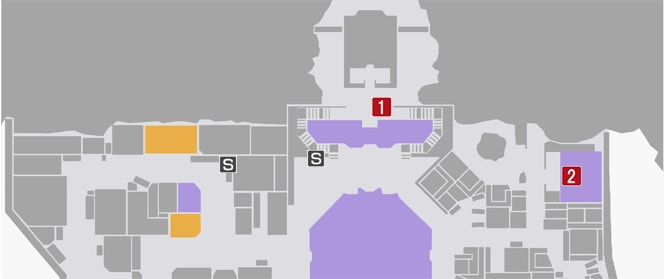 サイドミッション14『ケンシロウ・クリニック開院』の攻略マップ