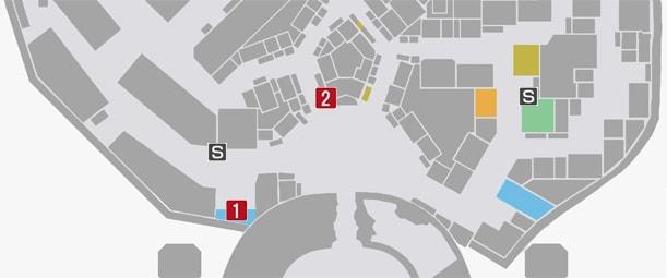サイドミッション15『カリスマ店員リン誕生』の攻略マップ