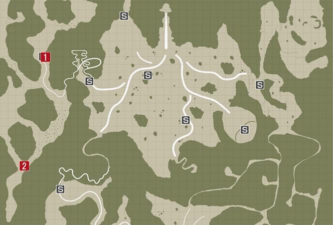 サイドミッション24『ヨスミの種モミ』の攻略マップ