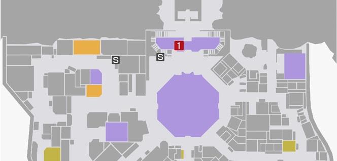 サイドミッション47『悩んで、変わって』の攻略マップ