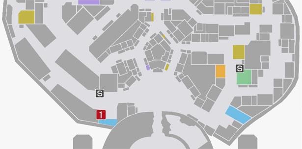 サイドミッション52『正しいカネの使い方』の攻略マップ