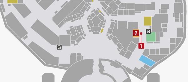 サイドミッション54『初心者大歓迎』の攻略マップ