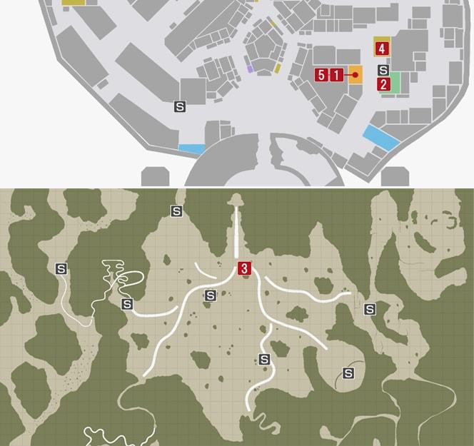 サイドミッション55『親子の想い』の攻略マップ