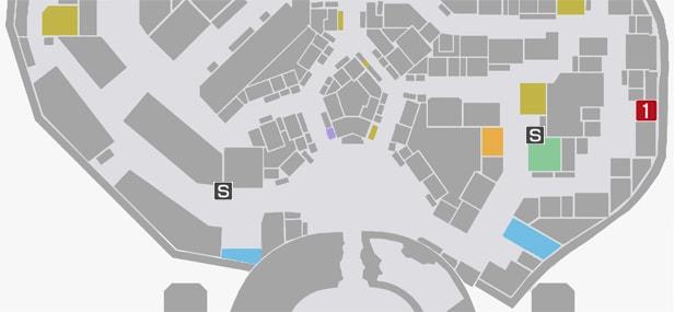 サイドミッション72『殺人鬼の影』の攻略マップ