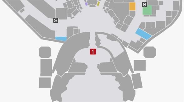 サイドミッション77『世紀末愉快犯』の攻略マップ