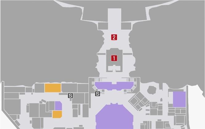 サイドミッション80『鬼からの挑戦状』の攻略マップ
