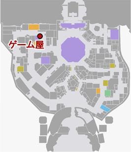 UFOキャッチャーの場所マップ