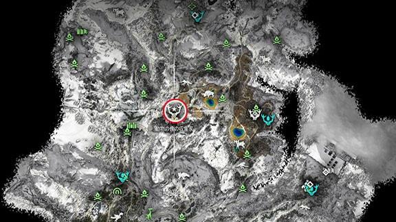 専門商人・動物の像の収集家のエンジュークの居場所マップ