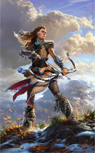 Limited Horizon Zero Dawn art prints