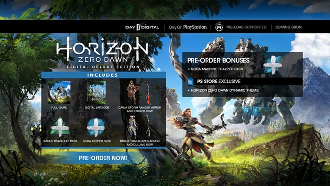 Horizon Zero Dawn - Digital Deluxe Edition