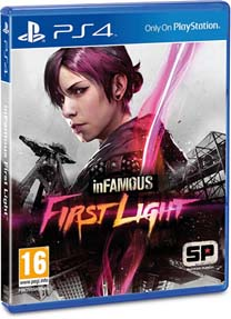 InFAMOUS First Lightのパッケージ