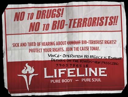 LiFELINEのポスター