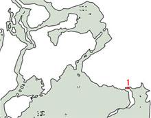 4-3:聖宝の眠る遺跡のマップ