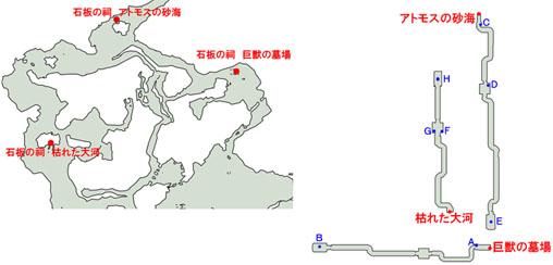 4-4:神々の壁画のマップ