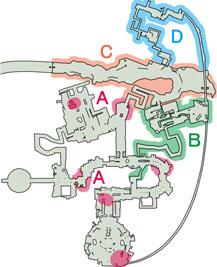 モンスター出現地マップ