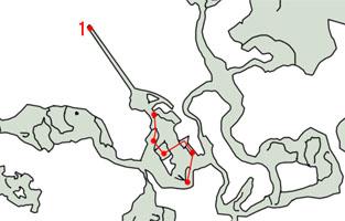 3-3:混沌たゆたう神殿のマップ
