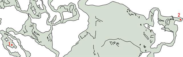 チョコボのはげましのマップ
