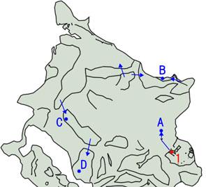 オメガポイントのマップ