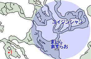 団長の挑戦状のマップ