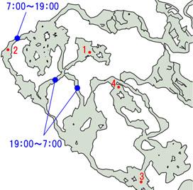 モーグルの場合のマップ