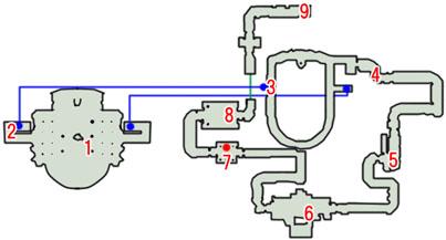 0-1:変貌のスノウのマップ