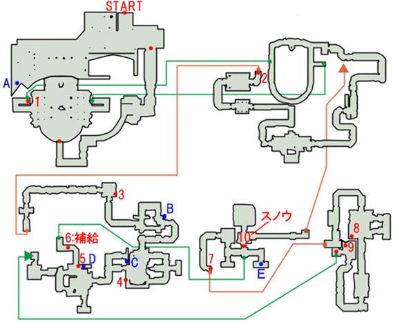 2-3:孤高の太守のマップ